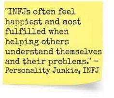 Personality Junkie, INFJ