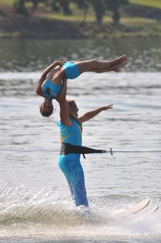 Kirsten and Jeff at Waterski Show Nationals