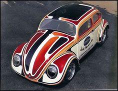 Volkswagen Beetle/Bug/Käfer drag race car