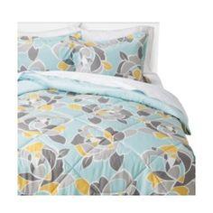 Room Essentials® Turquoise Rose Comforter Quick Information