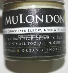 Review of MuLondon White Chocolate Elbow, Knee and Heel Cream #skincare #vegan #crueltyfree #crueltyfreebeauty #veganbeauty #crueltyfreeproducts #bbloggers #beautytalk #mybchat #beautychat #fblchat #gigbloggers #makeup #beauty #skincare #bloggers #beautyblogs #makeupblogs via @Renu MyBeautyJunction