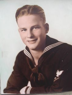 Waco, Texas US Navy sailor named Ken Swanner. The photo was taken in San Diego, Ca.