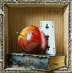 by Bruno Logan (artist) Hyper Realistic Paintings, Realistic Drawings, Still Life Drawing, Painting Still Life, Still Life Artists, Fruit Painting, Classic Paintings, Painting Inspiration, Art Lessons
