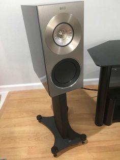 KEF Reference 1 speakers and Reference 1 stands with Su... for $7,200.00. Up for sale, a new pair (le...