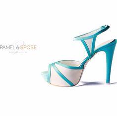 #pamelasposeshoes #opentoe #sandalo #raso #tiffany