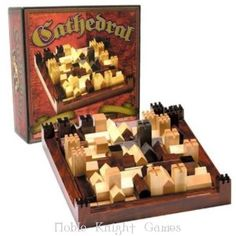 Family Games Boardgame Cathedral (Wooden) Box VG