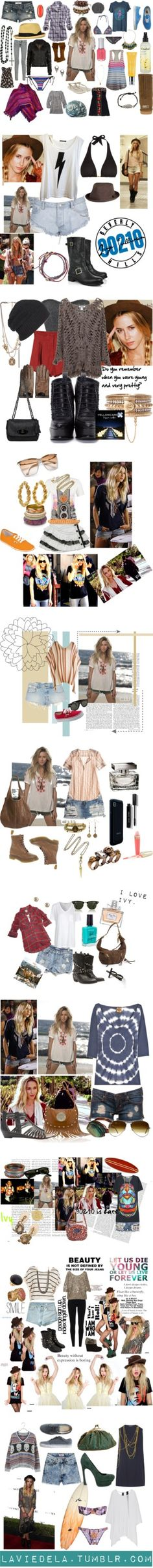 """""""Ivy Sullivan (90210)"""" by rosabette ❤ liked on Polyvore"""