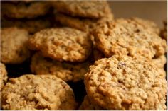 "Oatmeal ""Con"" Cookies: ""This recipe is from Sarena, the Non-Dairy Queen, 'These are what I now refer to as Con Cookies. This is my go to recipe for a great hearty cookie that will get you through the times when there is no time to stop for food! I make these every year for the conventions we go to and they are a hit with everyone. I change up the dried fruits and nuts depending on what I have on hand.'"""