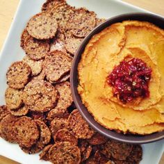 living beautifully...on a budget: Chipotle Pumpkin Hummus