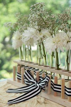 Test Tube Flower Arrangement