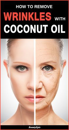 How to Remove Wrinkles with Coconut Oil