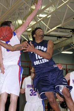 Brian Bearden is averaging 11 points and a team-high 1.8 steals per game for Madison College in 2014-15.
