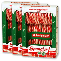Spangler Candy Canes - no peanuts, tree nuts, milk, eggs, wheat, soy, or gluten