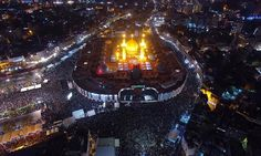 Millions of Muslims gather at Karbala to pay tribute to Imam Hussain(RA)