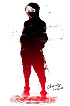 Tokyo Ghoul Kaneki *q* Image Tokyo Ghoul, Tokyo Ghoul Fan Art, Ken Kaneki Tokyo Ghoul, Ken Anime, Anime Naruto, Anime Guys, Manga Anime, Naruto Sad, Gamers Anime