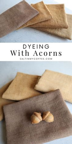 How To Dye Fabric, Fabric Art, Dyeing Fabric, Dyeing Yarn, Natural Dye Fabric, Natural Dyeing, Couture Main, Fabric Dyeing Techniques, Coffee Blog