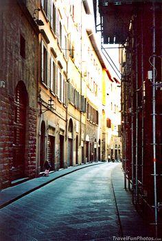 Narrow Streets of Venice, Italy