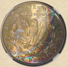 1881-S Morgan Dollar reverse