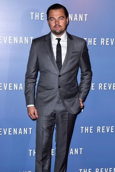 Pin for Later: Leonardo DiCaprio Brings His Sexy Smoulder to the Red Carpet