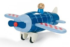 JANOD Magnetic Plane Build the magnetic wooden pieces into the plane.  #toys2learn #janod  #plane  #magnetic  #preschool  #play #construction  #gift  #australia  #wooden #build