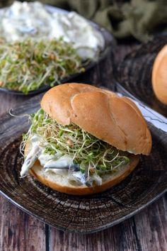 Avokádós, füstölt halas szendvics recept