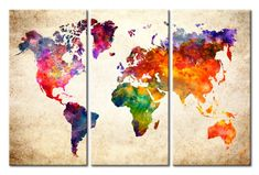 Bacheca in sughero - Colourful Universe [Cork Map] Cork Map, Map Wall Art, Picture Credit, Ultra Violet, Universe, Watercolor, Drawings, Design, Painting