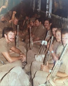 Flossie was not built with leg room in mind Vietnam Veterans, Vietnam War, Once Were Warriors, Army Pics, Army Day, Defence Force, Boat Design, Korean War, Military Life