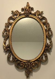 Shop for mirror on Etsy, the place to express your creativity through the buying and selling of handmade and vintage goods. Classy Aesthetic, Brown Aesthetic, Light And Shadow Photography, Fancy Mirrors, Diy Wall Decor For Bedroom, Vintage Picture Frames, Shabby Chic Frames, Mirror Painting, Instagram Frame