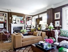 31 Gorgeous Rooms Featuring Warm Colors Photos   Architectural Digest