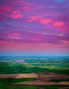 ~~Palouse Fiery Dawn ~ Steptoe Butte, Palouse region, eastern Washington by Inge Johnsson~~