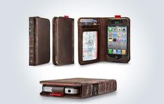 Book-Inspired iPhone 4/4S Case