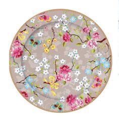 New Pip Studio 17cm Chinese rose cake plate - Shabby Chic China
