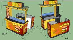 Kiosk Cart Maker, Stall Maker, Food Cart Maker Santa Cruz - Philippines Buy and Sell Marketplace - PinoyDeal Kiosk Design, Booth Design, 3d Design, Food Stall Design, Food Cart Design, Cow Logo, Mall Kiosk, Cozy Coffee Shop, Food Kiosk