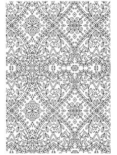 Scandinavian cute coloring pages, adult coloring book pages, pattern colori Pattern Coloring Pages, Adult Coloring Book Pages, Cute Coloring Pages, Colouring Pics, Animal Coloring Pages, Coloring Pages To Print, Free Coloring, Coloring Sheets, Coloring Books