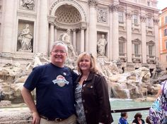 Trevi Fountain in Rome, Italy. We took our dental team to a Mediterranean Cruise in 2011 as a reward for three years of hard work.