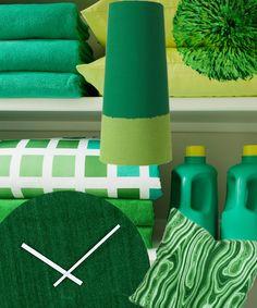 Jaarlijks bepaalt Pantone de trends op het gebied van kleur. Lijkt op de kleur Mint... ;)