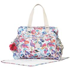 d2963c3ba3e1c Kipling Alanna Baby Tote ( 94) ❤ liked on Polyvore featuring ocean day  dream print