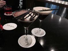 Espresso Martini & Toblerone at the Adelphi Grill at the Parmelia Hilton in Perth, Western Australia Espresso Martini, Toblerone, Australia Hotels, Hotel Reviews, Western Australia, Perth, Photo And Video, Tableware, Dinnerware