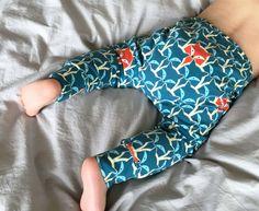 Kids Fall Toddler boys leggings Baby Boys by Stoffenjunkie on Etsy