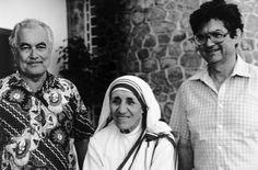 Fr. Ted met Mother Theresa in the Seychelles