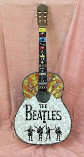 Beatles Guitar Mosaic