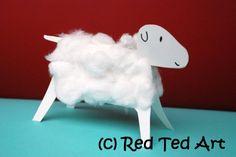 Woolly 3D lamb
