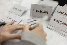 #Cascade: Autumn/Winter '13 London Fashion Week Show