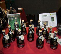 Azienda Agricola Giuliano Berloni, make this fab Liquor d'Ulivi, very different taste....