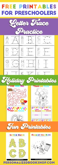 Alphabet Tracing Page Free Printables