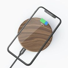 Wireless Charging Pad, Wireless Headphones, Smartwatch, Samsung S9, Wooden Tables, Galaxies, Design, Free Shipping, Phone Chargers
