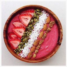 Amazing smoothie bowl creation