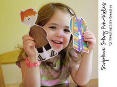 Scripture Story Printables by Keeping Life Creative