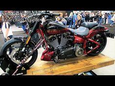 2017 CVO Pro Street Breakout Harley-Davidson │All 3 Colors Shown - YouTube #harleydavidsonstreetrod #harleydavidsonbreakoutcvo