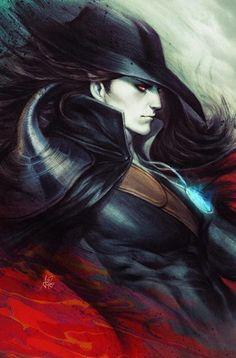 Vampire Hunter D Message Mars #1 Frankie's Comics Artgerm Variant Color | Frankie's Comics